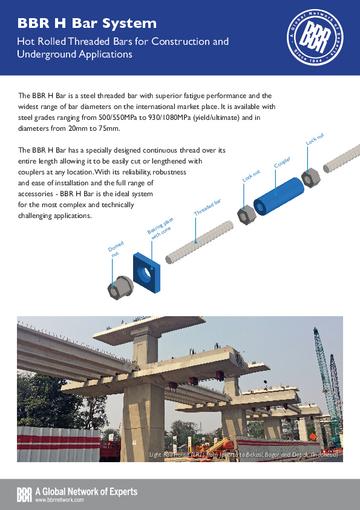 BBR H Bar System